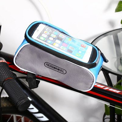 ROSWHEEL D12496 - X 6.0 inch 1.5L Touch Screen Bicycle Font Tube Bag