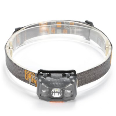UltraFire W03 LED HeadlampHeadlights<br>UltraFire W03 LED Headlamp<br><br>Headlight Brand: Ultrafire<br>Model: W03<br>Function: Camping,EDC,Hiking,Household Use,Night Riding,Walking<br>Feature: Angle adjustment,Can be used as headlamp or bicycle light,Dual Light-source<br>Luminous Flux: 110LM<br>Power: 3W<br>Color Temperature: 6000-7000K<br>Main Emitters: Other<br>Emitters Quantity: 3<br>Mode: 4(White Light: High - Low; Red Light; Flash)<br>Battery Type: AAA<br>Battery Quantity: 3 (not included)<br>Power Source: Battery<br>Working Voltage: 4.5V<br>Beam Distance: 50-100m<br>Waterproof: IPX-4<br>Available Light Color: White + Red<br>Color: Grey,White<br>Body Material: ABS<br>Product weight: 0.048 kg<br>Package weight: 0.079 kg<br>Product size (L x W x H): 6.00 x 4.00 x 3.50 cm / 2.36 x 1.57 x 1.38 inches<br>Package size (L x W x H): 9.00 x 5.50 x 5.50 cm / 3.54 x 2.17 x 2.17 inches<br>Package Contents: 1 x UltraFire W03 LED Headlamp, 1 x Headband
