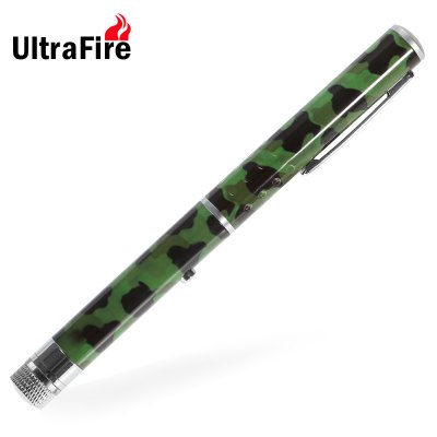 UltraFire 5mw 532nm Green LED Laser Pointer Starry Effect