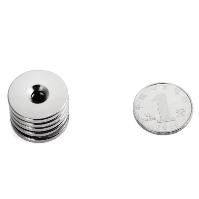 25 x 3mm N38 Powerful NdFeB Round Magnet
