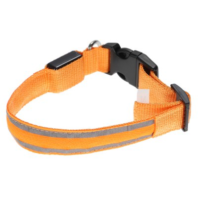 Yeshold Flashing LED Pet Dog Collar Safety Night WalkingNovelty lighting<br>Yeshold Flashing LED Pet Dog Collar Safety Night Walking<br><br>Battery Type: Button battery (included)<br>Optional Color: Blue,Green,Orange,Red<br>Package Contents: 1 x LED Pet Collar<br>Package size (L x W x H): 18.00 x 23.50 x 3.00 cm / 7.09 x 9.25 x 1.18 inches<br>Package weight: 0.087 kg<br>Power Supply: Battery<br>Product size (L x W x H): 42.50 x 3.30 x 1.50 cm / 16.73 x 1.3 x 0.59 inches<br>Product weight: 0.050 kg