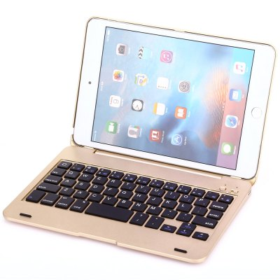 F1S Bluetooth Keyboard Protective Shell Combo for iPad mini 4