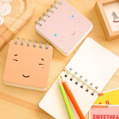 5PCS Creative Mini Note Book with Cartoon EmoticonNotebooks &amp; Pads<br>5PCS Creative Mini Note Book with Cartoon Emoticon<br><br>Type: Others<br>Material: Paper<br>Color: Multi-color<br>Product weight: 0.500 kg<br>Package weight: 0.580 kg<br>Product size (L x W x H): 9.00 x 9.00 x 1.20 cm / 3.54 x 3.54 x 0.47 inches<br>Package size (L x W x H): 10.00 x 10.00 x 6.00 cm / 3.94 x 3.94 x 2.36 inches<br>Package Contents: 5 x Note Book