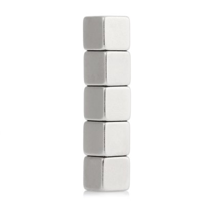 DIY 10 x 10 x 10mm N42 Powerful NdFeB Square MagnetNovelty Toys<br>DIY 10 x 10 x 10mm N42 Powerful NdFeB Square Magnet<br><br>Features: Creative Toy, DIY Toy<br>Materials: Magnet<br>Package Contents: 5 x Magnet<br>Package size: 7.00 x 3.00 x 2.00 cm / 2.76 x 1.18 x 0.79 inches<br>Package weight: 0.056 kg<br>Product weight: 0.053 kg<br>Series: Lifestyle<br>Theme: Trick