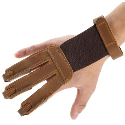 Versatile Three-finger Cow Leather Finger Protector