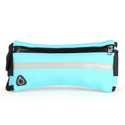Water-resistant Sports Waist Bag for 6 inch Mobile PhoneWaistpacks<br>Water-resistant Sports Waist Bag for 6 inch Mobile Phone<br><br>Features: Water Resistant, Ultra Light, Reflective<br>For: Casual, Sports, Exercise and Fitness, Cycling<br>Package Contents: 1 x Sports Waist Bag<br>Package size (L x W x H): 21.00 x 12.00 x 4.00 cm / 8.27 x 4.72 x 1.57 inches<br>Package weight: 0.119 kg<br>Product size (L x W x H): 85.00 x 9.00 x 1.00 cm / 33.46 x 3.54 x 0.39 inches<br>Product weight: 0.086 kg
