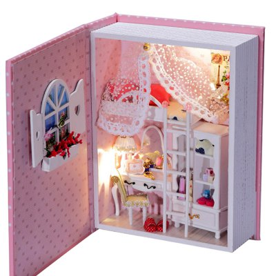DIY Room Design Miniature Handicraft ToyOther Educational Toys<br>DIY Room Design Miniature Handicraft Toy<br><br>Completeness: Semi-finished Product<br>Gender: Unisex<br>Materials: Other, Paper, Plastic<br>Package Contents: 1 x Diary Kit, 1 x Operation Instruction<br>Package size: 21.50 x 16.50 x 7.00 cm / 8.46 x 6.5 x 2.76 inches<br>Package weight: 0.6220 kg<br>Product size: 20.00 x 15.00 x 6.00 cm / 7.87 x 5.91 x 2.36 inches<br>Product weight: 0.3500 kg<br>Stem From: China<br>Theme: Other