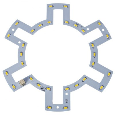 15W 1200Lm 30 x SMD 5730 Round LED Ceiling Lamp Fixture