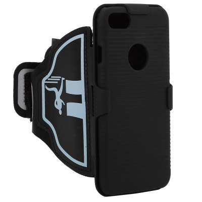 Stylish Sports Arm Band Phone Case Strap for iPhone 7iPhone Cases/Covers<br>Stylish Sports Arm Band Phone Case Strap for iPhone 7<br><br>Compatible for Apple: iPhone 7<br>Features: Anti-knock,Back Cover,Sports Case<br>Material: Nylon,PC<br>Style: Modern,Stripe Pattern<br>Color: Black<br>Product weight: 0.100 kg<br>Package weight: 0.135 kg<br>Product size (L x W x H): 49.00 x 14.30 x 2.00 cm / 19.29 x 5.63 x 0.79 inches<br>Package size (L x W x H): 21.50 x 16.00 x 4.00 cm / 8.46 x 6.3 x 1.57 inches<br>Package Contents: 1 x Sport Armband Case