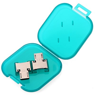POFAN 2PCS USB 2.0 to Micro USB Adapter Plate