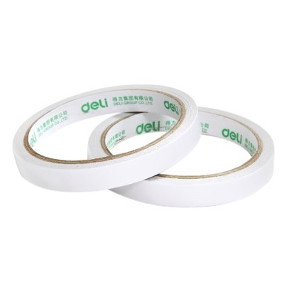Deli 30401 24PCS Double-sided Paper Adhesive TapeTapes<br>Deli 30401 24PCS Double-sided Paper Adhesive Tape<br><br>Brand: Deli<br>Product weight: 0.220 kg<br>Package weight: 0.300 kg<br>Package size (L x W x H): 9.40 x 9.40 x 29.00 cm / 3.7 x 3.7 x 11.42 inches<br>Package Contents: 24 x Deli 30401 Paper Adhesive Tape