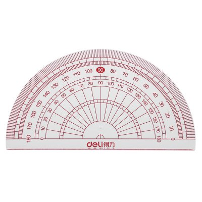 Deli 9595 Geometry Ruler for Students 4PCSSchool Supplies<br>Deli 9595 Geometry Ruler for Students 4PCS<br><br>Brand: Deli<br>Product weight: 0.049 kg<br>Package weight: 0.070 kg<br>Package size (L x W x H): 19.00 x 7.80 x 0.50 cm / 7.48 x 3.07 x 0.2 inches<br>Package Contents: 1 x Straightedge, 2 x Triangular Ruler, 1 x Protractor, 1 x Packing Bag