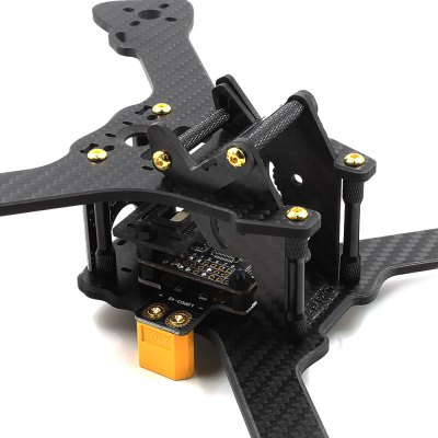 GEPRC GEP - RX5 Hawk 210mm Carbon Fiber DIY Frame KitRacing Frame<br>GEPRC GEP - RX5 Hawk 210mm Carbon Fiber DIY Frame Kit<br><br>Brand: GEPRC<br>Package Contents: 1 x Frame Kit<br>Package size (L x W x H): 20.00 x 20.00 x 2.00 cm / 7.87 x 7.87 x 0.79 inches<br>Package weight: 0.280 kg<br>Product size (L x W x H): 19.00 x 18.00 x 4.00 cm / 7.48 x 7.09 x 1.57 inches<br>Product weight: 0.099 kg<br>Type: Frame Kit