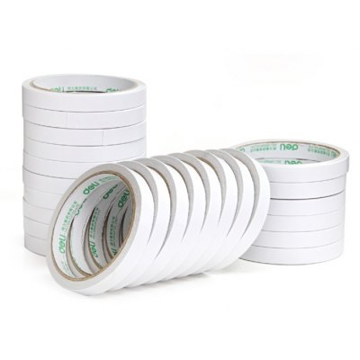 Deli 30401 24PCS Double-sided Paper Adhesive Tape