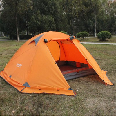 FLYTOP FT - Z2006 Camping TentTent<br>FLYTOP FT - Z2006 Camping Tent<br><br>Brand: FLYTOP<br>Color: Blue,Orange<br>Features: Breathable, Double Doors, Double Layers, Waterproof, Wind Proof<br>Fits for: Double<br>Package Content: 1 x FLYTOP FT - Z2006 Tent, 2 x Pole with Bag, 4 x Rope, 4 x Peg<br>Package size: 45.00 x 16.00 x 15.00 cm / 17.72 x 6.3 x 5.91 inches<br>Package weight: 2.830 kg<br>Product size: 210.00 x 150.00 x 115.00 cm / 82.68 x 59.06 x 45.28 inches<br>Product weight: 2.700 kg<br>Seasons: Autumn,Spring,Summer,Winter<br>Structure: Bilayer<br>Type: Manual Tent