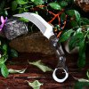 5Cr13Mov Stainless Steel Fixed Claw Knife with G10 Handle for sale