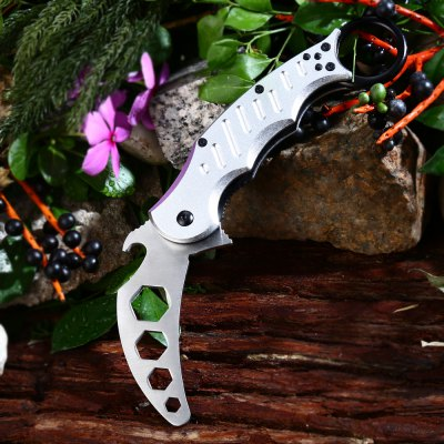 Dull Blade Folding Claw Knife