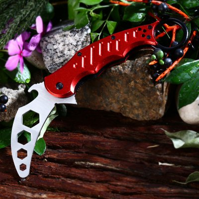 Dull Blade Survival Hunting Knife