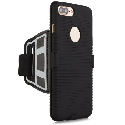 Stylish Sports Wrist Band Phone Case Strap for iPhone 7 PlusiPhone Cases/Covers<br>Stylish Sports Wrist Band Phone Case Strap for iPhone 7 Plus<br><br>Color: Black<br>Compatible for Apple: iPhone 7 Plus<br>Features: Anti-knock, Back Cover, Sports Case<br>Material: Nylon, PC<br>Package Contents: 1 x Sport Wristband Case<br>Package size (L x W x H): 21.70 x 16.00 x 3.00 cm / 8.54 x 6.3 x 1.18 inches<br>Package weight: 0.113 kg<br>Product size (L x W x H): 27.80 x 16.20 x 2.00 cm / 10.94 x 6.38 x 0.79 inches<br>Product weight: 0.080 kg<br>Style: Modern, Stripe Pattern