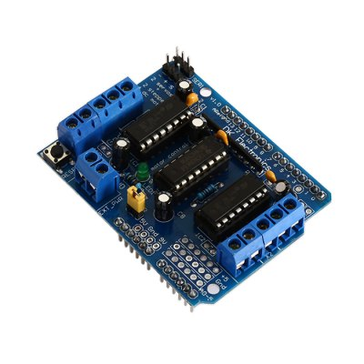 L293D Motor Drive Shield Board Expansion Board for ArduinoOther Accessories<br>L293D Motor Drive Shield Board Expansion Board for Arduino<br><br>Color: Blue<br>Mainly Compatible with: Arduino<br>Model: L293D<br>Package Contents: 1 x L293D Motor Drive Shield Expansion Board<br>Package Size(L x W x H): 8.00 x 7.00 x 3.50 cm / 3.15 x 2.76 x 1.38 inches<br>Package weight: 0.0450 kg<br>Product Size(L x W x H): 7.00 x 5.30 x 2.00 cm / 2.76 x 2.09 x 0.79 inches<br>Product weight: 0.0290 kg