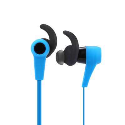 Bluetooth Wireless Magnetic Sport EarbudsEarbud Headphones<br>Bluetooth Wireless Magnetic Sport Earbuds<br><br>Application: Mobile phone, Portable Media Player, Sport, For iPod<br>Battery Capacity(mAh): 160mAh<br>Battery Types: Biult-in Li-ion battery<br>Bluetooth: Yes<br>Bluetooth Version: V4.0<br>Charging Time.: 2h<br>Compatible with: iPod<br>Connectivity: Wireless<br>Driver unit: 40mm<br>Frequency response: 20~20KHz<br>Function: Voice control, Answering Phone, Bluetooth, Microphone, Song Switching, Sweatproof<br>Impedance: 32ohms<br>Language: English<br>Material: ABS<br>Music Time: 7h<br>Package Contents: 1 x Earbuds, 1 x USB Cable, 1 x English User Manual, 4 x Ear Hook<br>Package size (L x W x H): 9.30 x 7.20 x 3.50 cm / 3.66 x 2.83 x 1.38 inches<br>Package weight: 0.0600 kg<br>Product weight: 0.0200 kg<br>Sensitivity: 92dB<br>Standby time: 168h<br>Talk time: 7h<br>Wearing type: In-ear with ear hook