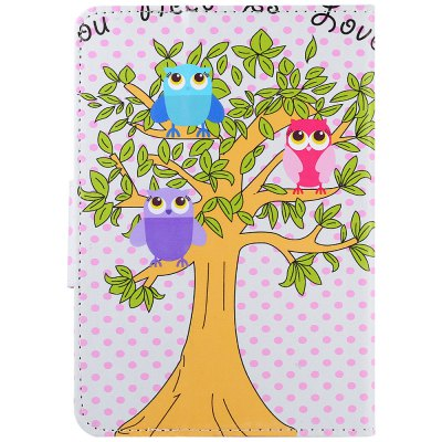 SZKINSTON Lovely Owl Style Protective Case for 7 inch Tablet PC