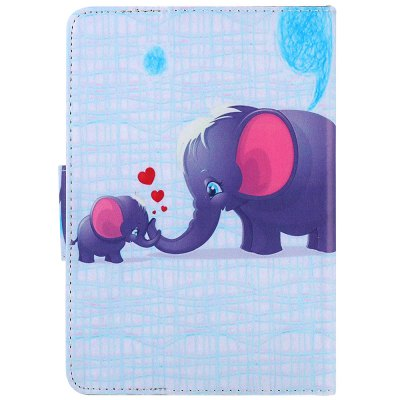 SZKINSTON Elephant Family Style Protective Case for 7 inch Tablet PC