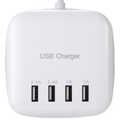 ASLING YC - CDA21 Power Adapter Wall Charger StationiPhone Cables &amp; Adapters<br>ASLING YC - CDA21 Power Adapter Wall Charger Station<br><br>Brand: ASLING<br>Type: Adapters<br>Material ( Cable&amp;Adapter): ABS,PVC<br>Color: White<br>Cable Length (cm): 70cm<br>Plug: EU plug<br>Input: 100 - 240V, 50 / 60Hz<br>Output: 5V 3.2A ( max )<br>Product weight: 0.153 kg<br>Package weight: 0.234 kg<br>Product size (L x W x H): 8.40 x 8.40 x 2.90 cm / 3.31 x 3.31 x 1.14 inches<br>Package size (L x W x H): 21.50 x 16.00 x 5.00 cm / 8.46 x 6.3 x 1.97 inches<br>Package Contents: 1 x USB Power Charger