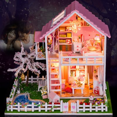 Wooden House Mini Kit