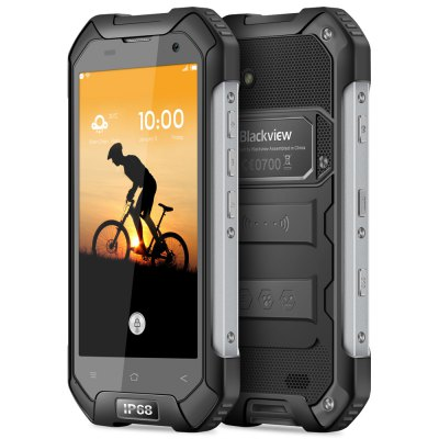Blackview BV6000S MTK6737 4G SmartphoneCell phones<br>Blackview BV6000S MTK6737 4G Smartphone<br><br>2G: GSM 850/900/1800/1900MHz<br>3G: WCDMA 850/900/1900/2100MHz<br>4G: FDD-LTE 800/900/1800/2100/2600MHz<br>Additional Features: Calculator, 3G, MP3, GPS, Calendar, 4G, Browser, Bluetooth, MP4, OTG, Waterproof, People, Video Call, Wi-Fi, Camera, Alarm<br>Back-camera: 8.0MP ( SW 13.0MP )<br>Battery Capacity (mAh): 4200mAh Built-in<br>Bluetooth Version: V4.1<br>Brand: Blackview<br>Camera type: Dual cameras (one front one back)<br>Cell Phone: 1<br>Cores: Quad Core, 1.5GHz<br>CPU: MTK6737<br>Dustproof: Yes<br>E-book format: TXT<br>Earphones: 1<br>External Memory: TF card up to 32GB (not included)<br>Flashlight: Yes<br>FM radio: Yes<br>Front camera: 2.0MP ( SW 5.0MP )<br>Games: Android APK<br>GPU: Mali-T720<br>I/O Interface: 3.5mm Audio Out Port, 2 x Micro SIM Card Slot, TF/Micro SD Card Slot, Micro USB Slot<br>IP rating: IP68<br>Language: Multi Language<br>Music format: OGG, MKA, AMR, MP3, M4A<br>Network type: FDD-LTE+WCDMA+GSM<br>OS: Android 6.0<br>OTG Cable: 1<br>Package size: 20.50 x 20.40 x 5.80 cm / 8.07 x 8.03 x 2.28 inches<br>Package weight: 0.619 kg<br>Picture format: JPEG, BMP, PNG, GIF<br>Power Adapter: 1<br>Product size: 15.23 x 8.10 x 1.66 cm / 6 x 3.19 x 0.65 inches<br>Product weight: 0.247 kg<br>RAM: 2GB RAM<br>ROM: 16GB<br>Screen resolution: 1280 x 720 (HD 720)<br>Screen size: 4.7 inch<br>Screen type: Corning Gorilla Glass 3<br>Screwdriver: 1<br>Sensor: Ambient Light Sensor,Gravity Sensor,Proximity Sensor<br>Service Provider: Unlocked<br>SIM Card Slot: Dual Standby, Dual SIM<br>SIM Card Type: Dual Micro SIM Card<br>Type: 4G Smartphone<br>USB Cable: 1<br>Video format: MP4, MPG, FLV, 3GP, MKV, AVI<br>Video recording: Yes<br>Waterproof: Yes<br>WIFI: 802.11a/b/g/n/ac wireless internet<br>Wireless Connectivity: WiFi, NFC, GSM, GPS, Bluetooth, 4G, 3G