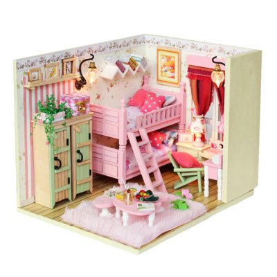 Miniature DIY House Theme Art Handicraft Toy