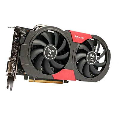 Colorful iGame 1050Ti Graphics CardGraphics &amp; Video Cards<br>Colorful iGame 1050Ti Graphics Card<br><br>Brand: Colorful<br>Material: Metal<br>Model: iGame 1050Ti<br>Package size: 29.00 x 15.00 x 5.00 cm / 11.42 x 5.91 x 1.97 inches<br>Package weight: 1.5700 kg<br>Packing List: 1 x Colorful iGame 1050Ti Graphics Card, 1 x CD Driver, 1 x 6Pin Cable, 1 x English Manual<br>PCI Express Type: X1<br>Power: 400W<br>Power Comsumption: 75W<br>Product weight: 1.5000 kg<br>Supports System: Linux, Android 2.x, Android 4.x., Win8 64, Win8 32, Win7 64, IOS, Win XP, Win vista, Win 2008, Win 2000, MAC OS X, Win7 32<br>Voltage: 1.1V
