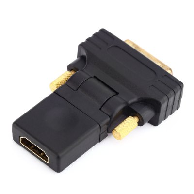 HDMI to DVI18+1 Female to Male ConverterCables &amp; Connectors<br>HDMI to DVI18+1 Female to Male Converter<br><br>Compatible with: Macbook, Notebook, Sony PS3, Xbox<br>Connector Type: DVI<br>DC Port: No<br>Interface: DVI, HDMI<br>Package Contents: 1 x HDMI to DVI18+1 Female to Male Converter<br>Package size (L x W x H): 7.50 x 5.30 x 2.50 cm / 2.95 x 2.09 x 0.98 inches<br>Package weight: 0.045 kg<br>Product size (L x W x H): 6.50 x 4.30 x 1.50 cm / 2.56 x 1.69 x 0.59 inches<br>Product weight: 0.024 kg<br>Type: Connector
