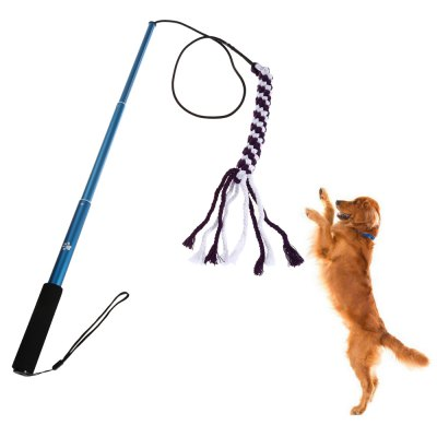 Outdoor Interactive Dog Pet Teaser ToyDog Toys<br>Outdoor Interactive Dog Pet Teaser Toy<br><br>For: Dogs<br>Package Contents: 1 x Dog Toy, 1 x English User Manual, 1 x Nylon Rope<br>Package size (L x W x H): 39.00 x 5.50 x 4.00 cm / 15.35 x 2.17 x 1.57 inches<br>Package weight: 0.2580 kg<br>Product size (L x W x H): 107.20 x 2.50 x 2.50 cm / 42.2 x 0.98 x 0.98 inches<br>Product weight: 0.1180 kg<br>Season: All seasons<br>Size: L,S<br>Type: Dog Toys