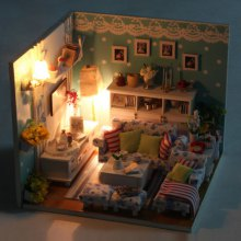 Miniature DIY Doll House Style Art Furniture Handcraft Toy