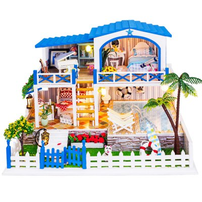 Wooden Miniature DIY House Style Art Handicraft ToyOther Educational Toys<br>Wooden Miniature DIY House Style Art Handicraft Toy<br><br>Materials: Other,Paper,Plastic,Wood<br>Theme: Other<br>Gender: Unisex<br>Completeness: Semi-finished Product<br>Stem From: China<br>Product weight: 0.800 kg<br>Package weight: 0.850 kg<br>Product size: 27.00 x 21.00 x 19.20 cm / 10.63 x 8.27 x 7.56 inches<br>Package size: 30.00 x 24.00 x 20.00 cm / 11.81 x 9.45 x 7.87 inches<br>Package Contents: 1 x DIY House Kit, 1 x Operation Instruction