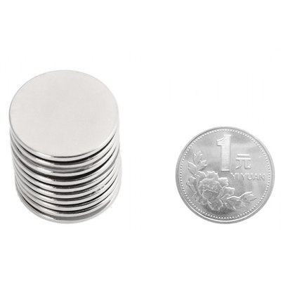 25 x 2mm N52 Powerful NdFeB Round Magnet