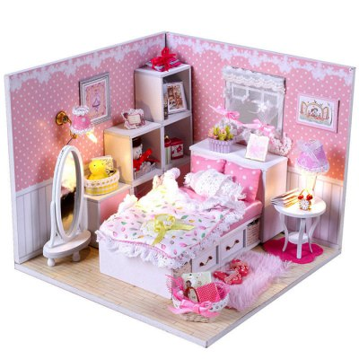 Miniature DIY House Shape Furniture Handcraft ToyOther Educational Toys<br>Miniature DIY House Shape Furniture Handcraft Toy<br><br>Completeness: Semi-finished Product<br>Gender: Unisex<br>Materials: Other, Wood, Plastic, Paper<br>Package Contents: 1 x DIY House Kit, 1 x Operation Instruction<br>Package size: 21.00 x 19.00 x 7.50 cm / 8.27 x 7.48 x 2.95 inches<br>Package weight: 0.5000 kg<br>Product size: 16.00 x 16.00 x 13.00 cm / 6.3 x 6.3 x 5.12 inches<br>Product weight: 0.4500 kg<br>Stem From: China<br>Theme: Other