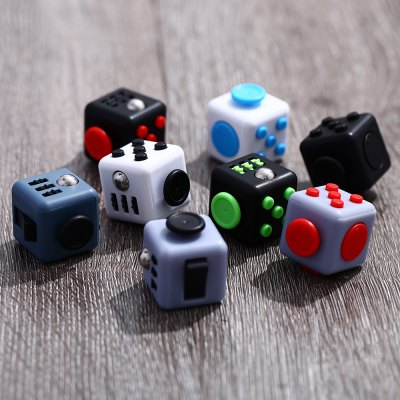 Stress Reliever Magic Fidget Cube for WorkerFidget Cubes<br>Stress Reliever Magic Fidget Cube for Worker<br><br>Features: Creative Toy<br>Materials: Other, PVC<br>Package Contents: 1 x Magic Cube Toy<br>Package size: 8.00 x 8.00 x 8.00 cm / 3.15 x 3.15 x 3.15 inches<br>Package weight: 0.150 kg<br>Product size: 3.30 x 3.30 x 3.30 cm / 1.3 x 1.3 x 1.3 inches<br>Series: Entertainment<br>Theme: Other