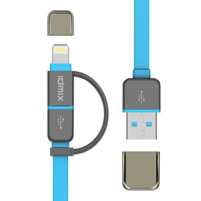 IDMIX DL01P MFi Certification USB Data Transfer Charging Cable