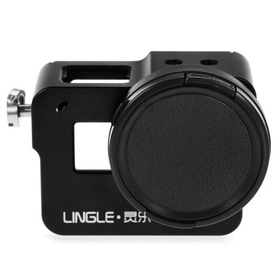 LINGLE AT267 CNC Aluminum Alloy Case with UV Lens