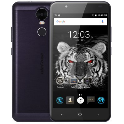 Ulefone Tiger 4G PhabletCell phones<br>Ulefone Tiger 4G Phablet<br><br>2G: GSM 850/900/1800/1900MHz<br>3G: WCDMA 900/2100MHz<br>4G: FDD-LTE 800/900/1800/2100/2600MHz<br>Additional Features: Fingerprint recognition, Fingerprint Unlocking, Calendar, Calculator, Browser, Bluetooth, Alarm, 4G, Gesture Sensing, GPS, Gravity Sensing, People, OTG, Off-screen gesture, MP4, MP3, Light Sensing, Wi-Fi, 3G<br>Back-camera: 8.0MP ( SW 13.0MP ) with flash light<br>Battery Capacity (mAh): 4200mAh Built-in<br>Battery Type: Lithium-ion Polymer Battery<br>Bluetooth Version: V4.0<br>Brand: Ulefone<br>Camera type: Dual cameras (one front one back)<br>Cell Phone: 1<br>Cores: Quad Core, 1.3GHz<br>CPU: MTK6737<br>E-book format: TXT<br>External Memory: TF card up to 128GB (not included)<br>Flashlight: Yes<br>FM radio: Yes<br>Front camera: 5.0MP ( SW 8.0MP )<br>Games: Android APK<br>I/O Interface: Micro USB Slot, TF/Micro SD Card Slot, Speaker, Micophone, 2 x Micro SIM Card Slot, 3.5mm Audio Out Port<br>Language: Multi language<br>Music format: AAC, MP3<br>Network type: FDD-LTE+WCDMA+GSM<br>OS: Android 6.0<br>OTG : Yes<br>Package size: 18.70 x 11.10 x 5.00 cm / 7.36 x 4.37 x 1.97 inches<br>Package weight: 0.3940 kg<br>Picture format: BMP, GIF, JPEG, PNG<br>Power Adapter: 1<br>Product size: 15.58 x 7.78 x 0.94 cm / 6.13 x 3.06 x 0.37 inches<br>Product weight: 0.1860 kg<br>RAM: 2GB RAM<br>ROM: 16GB<br>Screen resolution: 1280 x 720 (HD 720)<br>Screen size: 5.5inch<br>Screen type: Corning Gorilla Glass 3, Capacitive<br>Sensor: Ambient Light Sensor,Gravity Sensor,Hall Sensor<br>Service Provider: Unlocked<br>SIM Card Slot: Dual SIM, Dual Standby<br>SIM Card Type: Dual Micro SIM Card<br>Type: 4G Phablet<br>USB Cable: 1<br>User Manual: 1<br>Video format: MP4, 3GP<br>Video recording: Yes<br>WIFI: 802.11b/g/n wireless internet<br>Wireless Connectivity: Bluetooth 4.0, 4G, GPS, 3G, GSM, WiFi