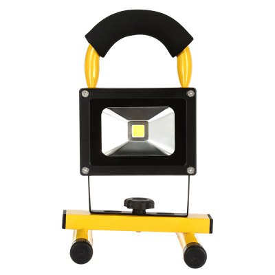 10W Waterproof LED Flood LightOutdoor Lights<br>10W Waterproof LED Flood Light<br><br>Available Light Color: White<br>CCT/Wavelength: 6500K<br>Features: Rechargeable, Low Power Consumption, Long Life Expectancy, IP-65 Waterproof Standard<br>Function: Outdoor Lighting, Commercial Lighting, Studio and Exhibition Lighting, Home Lighting<br>Holder: Other<br>Luminous Flux: 500LM<br>Output Power: 10W<br>Package Contents: 1 x LED Floodlight, 1x US Plug AC Charger, 1 x USB Cable, 1 x Car Charger, 1 x Screw<br>Package size (L x W x H): 15.00 x 16.00 x 14.50 cm / 5.91 x 6.3 x 5.71 inches<br>Package weight: 0.842 kg<br>Plug: US plug<br>Product size (L x W x H): 24.00 x 14.50 x 16.50 cm / 9.45 x 5.71 x 6.5 inches<br>Product weight: 0.669 kg<br>Sheathing Material: Aluminum<br>Total Emitters: 9<br>Type: Floodlight