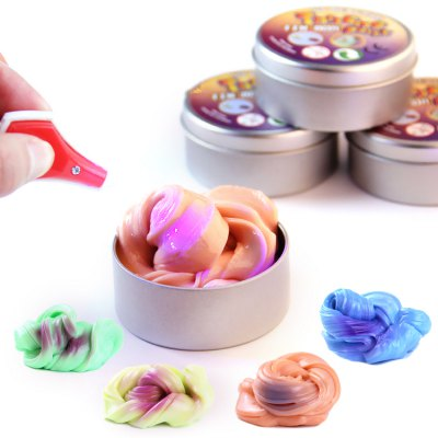 Stress-relieving Plasticine Toy Color Change