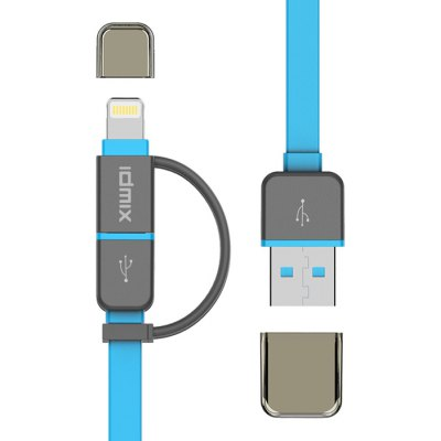 IDMIX DL01P MFi Certification USB Data Sync Charging Cable