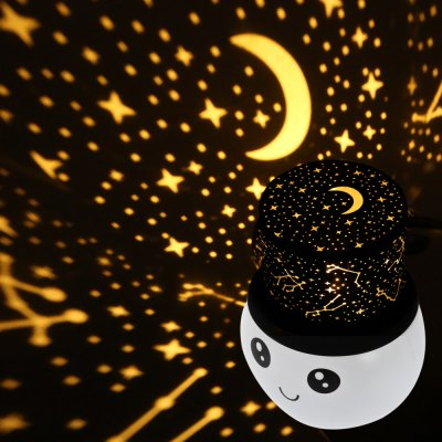 BRELONG Rechargeable Cartoon Top Hat LED Projection Night Light