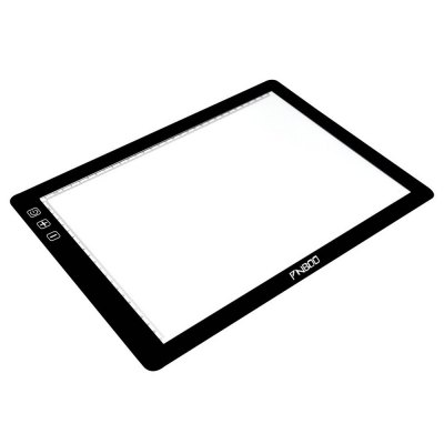 PNBOO PA3 24 inch Tracing Light BoxGraphics Tablets<br>PNBOO PA3 24 inch Tracing Light Box<br><br>Active Area: 17.5 inch  x 12.6  inch<br>Brand: PNBOO<br>Color: Black<br>Display Area: A3 ( 430 ? 310mm )<br>Electric Current: More than 500mA<br>Light Source: LED<br>Model: PA3<br>Package Contents: 1 x Tracing Light Box, 1 x AC Adapter, 1 x Anti-fouling Glove, 10 x A3 Sheet<br>Package Size(L x W x H): 58.00 x 38.00 x 5.00 cm / 22.83 x 14.96 x 1.97 inches<br>Package weight: 2.420 kg<br>Product Size(L x W x H): 48.00 x 36.20 x 0.70 cm / 18.9 x 14.25 x 0.28 inches<br>Product weight: 1.650 kg<br>Voltage: 12V DC