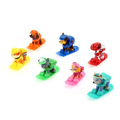 Anime Collectible Figurine with Light - 7pcs / set