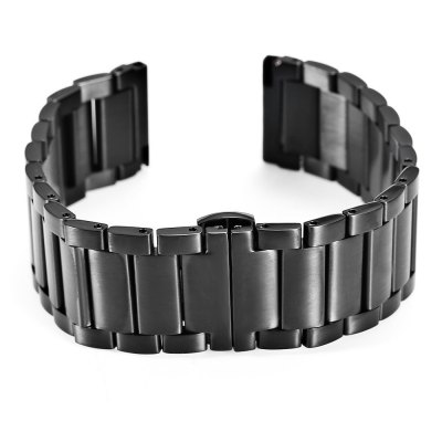 20MM Butterfly Buckle Strap with for moto 360 2 Smart WatchWatch Accessories<br>20MM Butterfly Buckle Strap with for moto 360 2 Smart Watch<br><br>Type: Smart watch / wristband band<br>Material: Stainless Steel<br>Color: Black,Gold,Silver<br>Product weight: 0.082 kg<br>Package weight: 0.140 kg<br>Product size (L x W x H): 18.50 x 2.00 x 1.00 cm / 7.28 x 0.79 x 0.39 inches<br>Package size (L x W x H): 22.30 x 5.20 x 1.80 cm / 8.78 x 2.05 x 0.71 inches<br>Package Contents: 1 x 20MM Butterfly Buckle Strap with for moto 360 2 Smart Watch, 3 x Spring Bar
