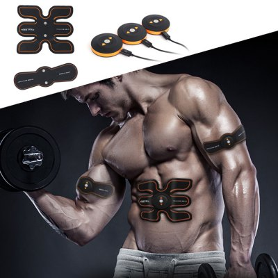 SHANDONG SD - 401 Muscle Training Gear Abs Body SculptingExercise Equipments<br>SHANDONG SD - 401 Muscle Training Gear Abs Body Sculpting<br><br>Brand: SHANDONG<br>Functions: Arm, Waist<br>Package Content: 3 x Main Enginet, 2 x Paster, 1 x English User Manual, 1 x Storage Bag, 1 x Hydrogel Sheet, 1 x USB Cable, 1 x Charger<br>Package Size(L x W x H): 27.30 x 23.00 x 5.10 cm / 10.75 x 9.06 x 2.01 inches<br>Package weight: 0.870 kg<br>Product Size(L x W x H): 17.80 x 15.40 x 0.10 cm / 7.01 x 6.06 x 0.04 inches<br>Product weight: 0.238 kg<br>Type: Abdominal Trainer